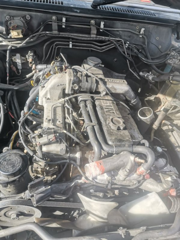 Двигатель Nissan Safari WRGY60 TD42