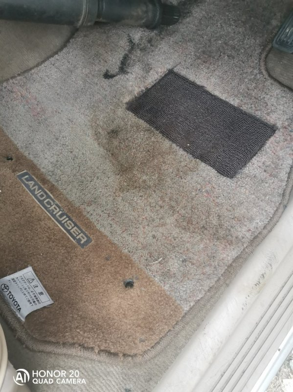 Коврики комплект Toyota Land Cruiser HDJ101 1HDFTE