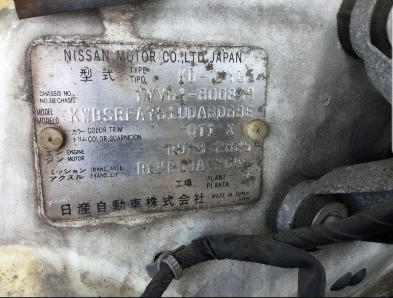 Акпп Nissan Safari WYY61 RD28-ETI