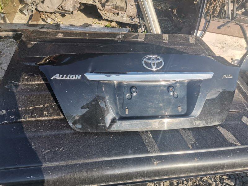 Крышка багажника Toyota Allion 260