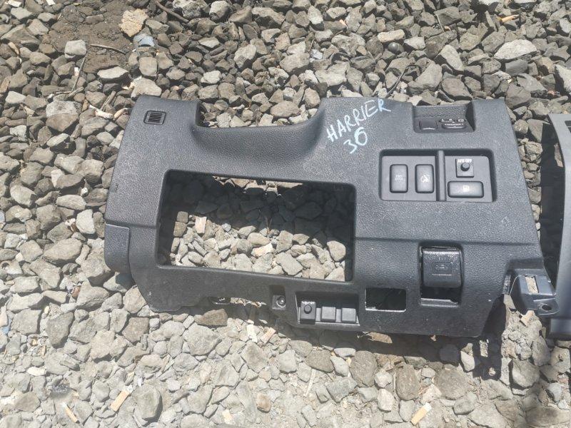 Пластик на торпедо Toyota Harrier 3