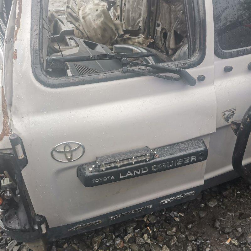Подсветка номера Toyota Land Cruiser HDJ81