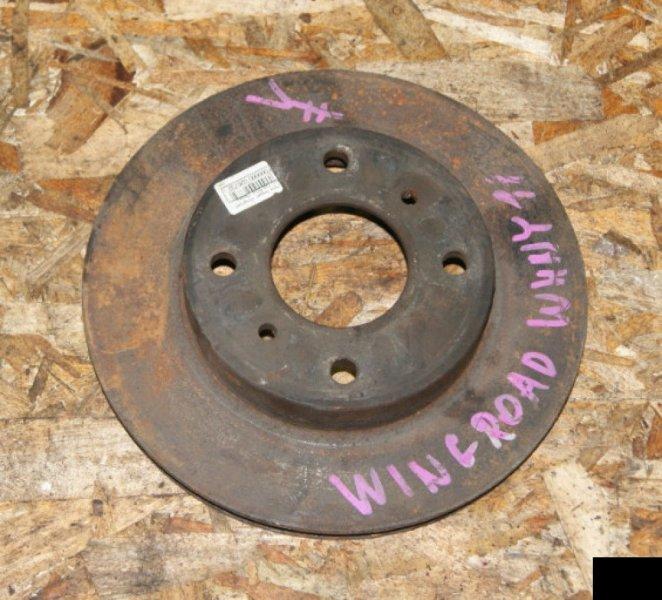 Тормозной диск Nissan Wingroad WHNY11 QG18DE передний