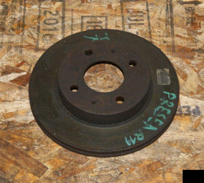 Тормозной диск Nissan Presea R11 GA15DE передний