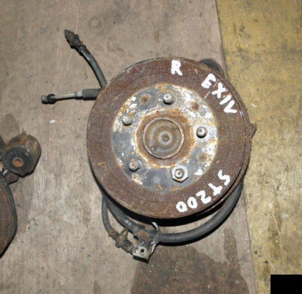 Ступица Toyota Corona Exiv ST200 4SFE задняя правая