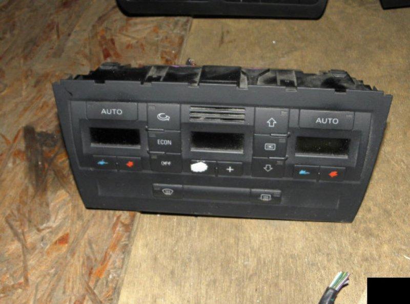 Блок управления климат-контролем Audi A4 B6 AMB