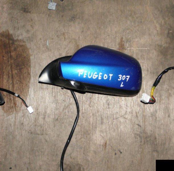 Зеркало Peugeot 307 NFU 10FX60 левое