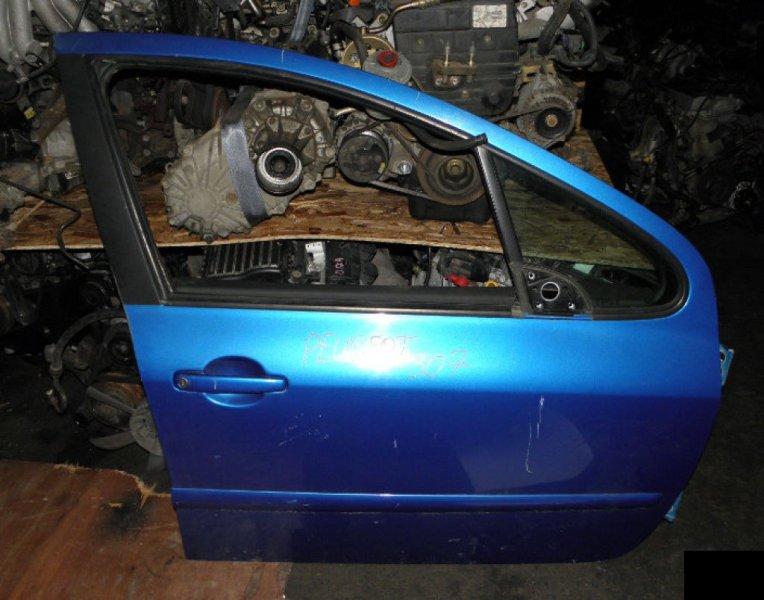 Дверь Peugeot 307 3A/C NFU 10FX60 передняя правая