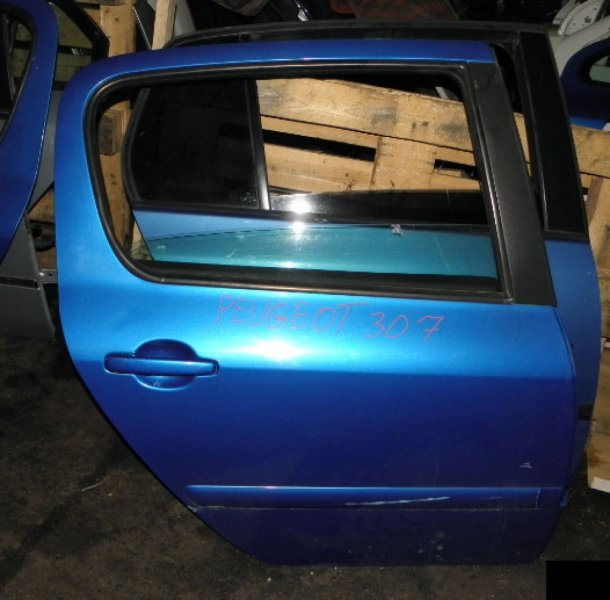 Дверь Peugeot 307 3A/C NFU 10FX60 задняя правая