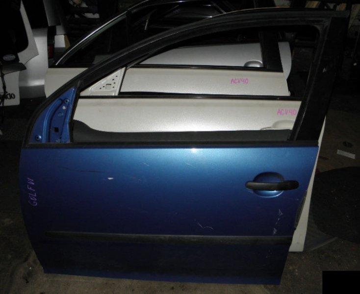 Дверь Volkswagen Golf V AXW передняя левая