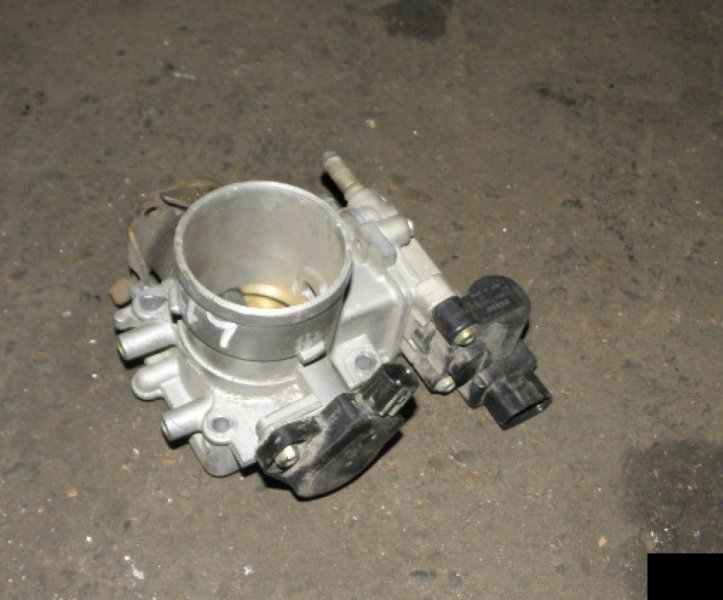 Блок дроссельной заслонки Honda Fit GD1 L13A