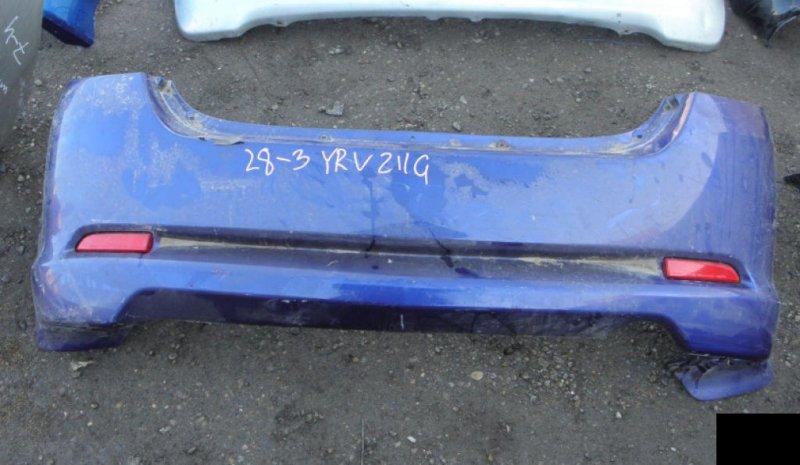 Бампер Daihatsu Yrv M211 K3-VE задний