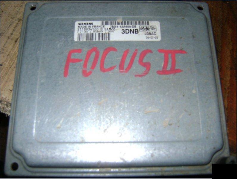 Блок управления efi Ford Focus CB4 1.6