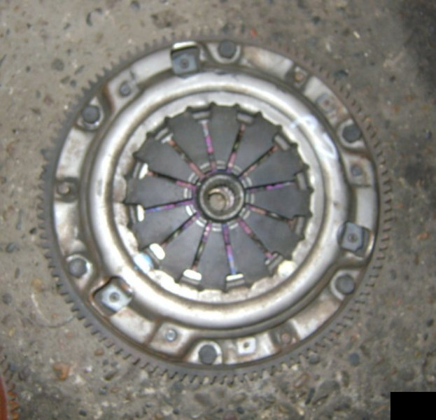 Корзина сц.+диск Mazda Demio DY3W ZJVE