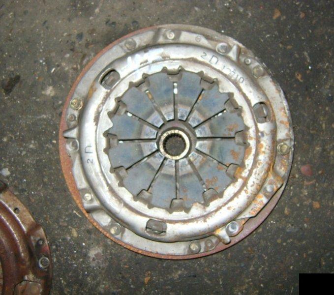 Корзина сц.+диск Toyota Corolla 2 EL51 4EFE