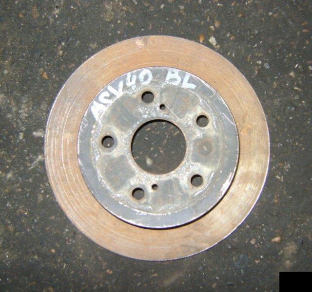 Тормозной диск Toyota Camry ACV40 2AZFE задний