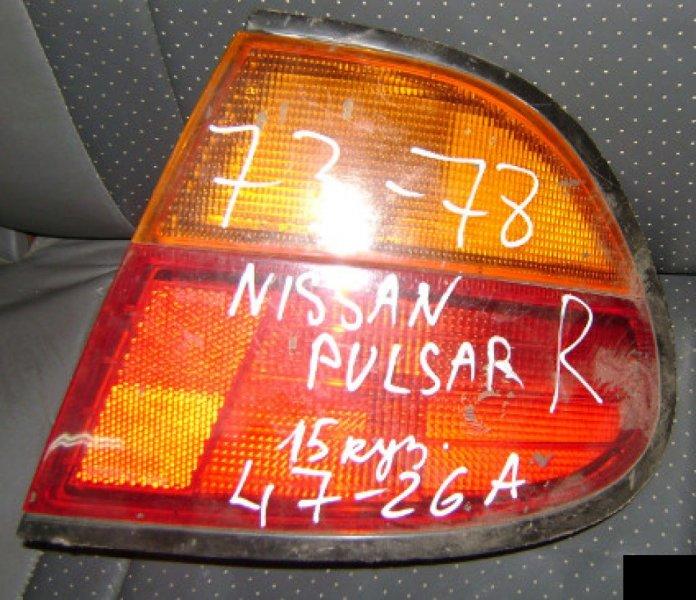 Стоп Nissan Pulsar FN15 GA15DE правый