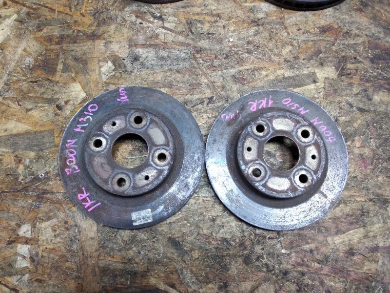 Тормозной диск Toyota Passo KGC10 1KRFE передний