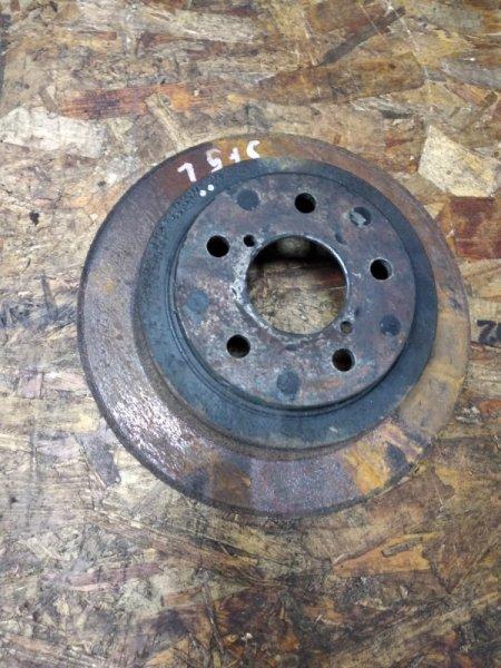 Тормозной диск Subaru Forester SF5 EJ20 задний