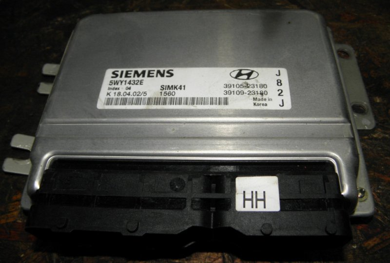 Блок управления efi Hyundai Elantra XD G4GB