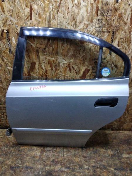Дверь Hyundai Elantra XD G4GB задняя левая