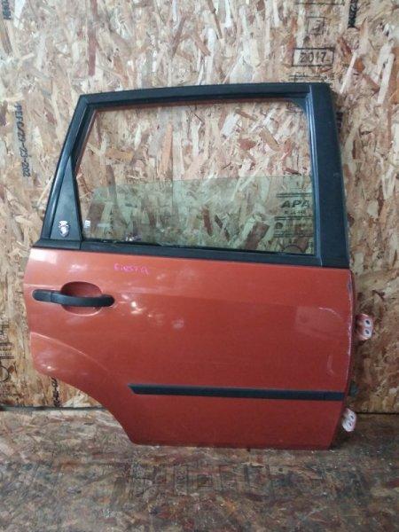 Дверь Ford Fiesta CBK FYJA задняя правая