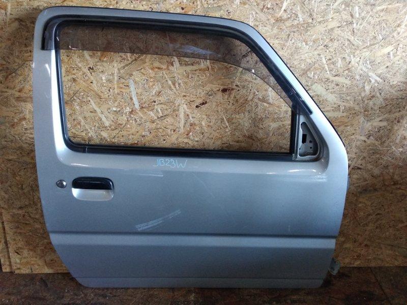 Дверь Suzuki Jimny JB23W K6A передняя правая