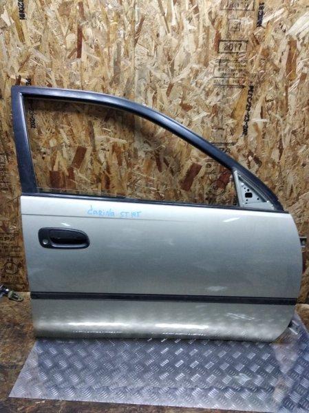 Дверь Toyota Carina ST191 3SFE передняя правая