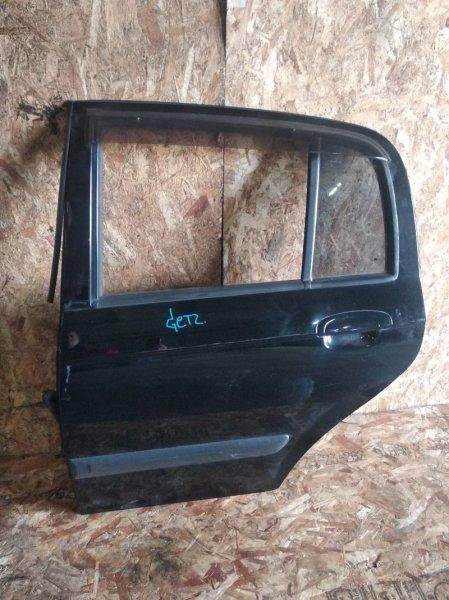 Дверь Hyundai Getz TB G4EA задняя левая