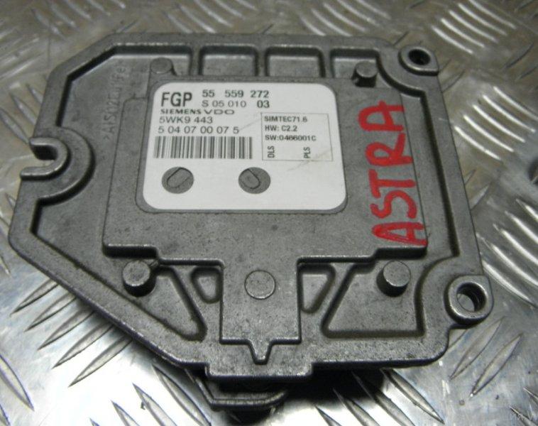 Блок управления efi Opel Astra ASTRA H Z18XE