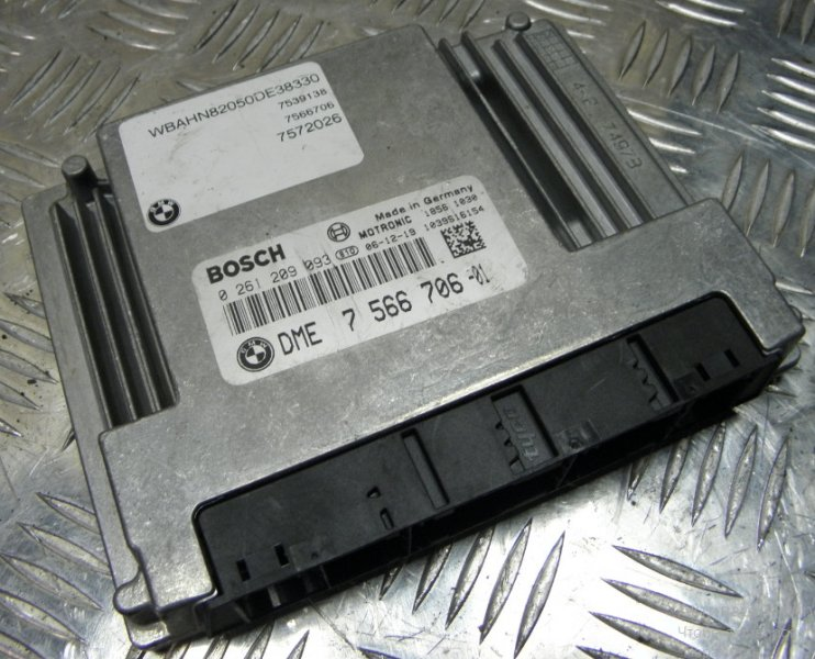 Блок управления efi Bmw 7 Series E65 E66 N62B48