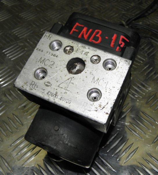 Блок abs Nissan Sunny FNB15 QG15DE