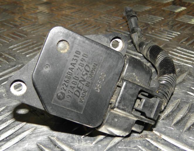 Датчик расхода воздуха Subaru Outback BPE EZ30