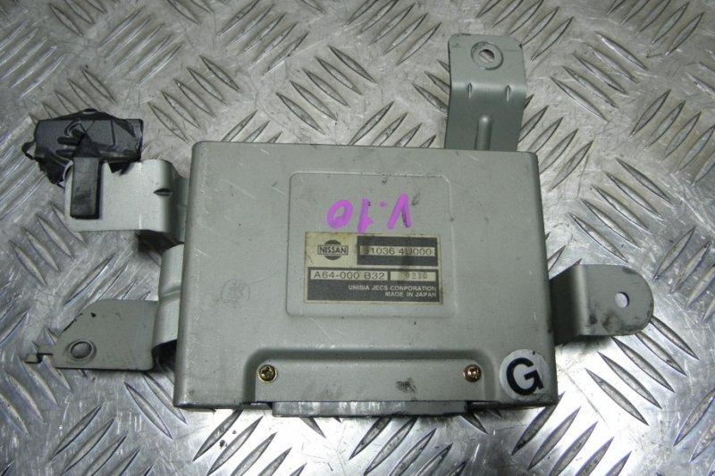 Блок переключения кпп Nissan Tino V10 QG18DE