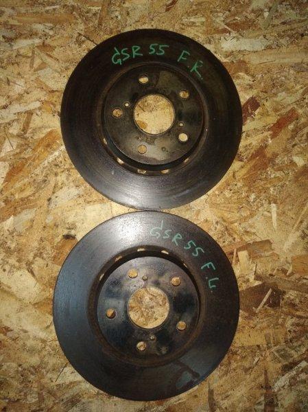 Тормозной диск Toyota Estima GSR55 2GRFE передний
