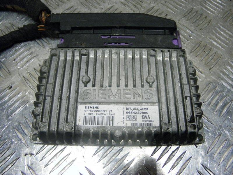 Электронный блок Citroen C4 LC TU5JP4