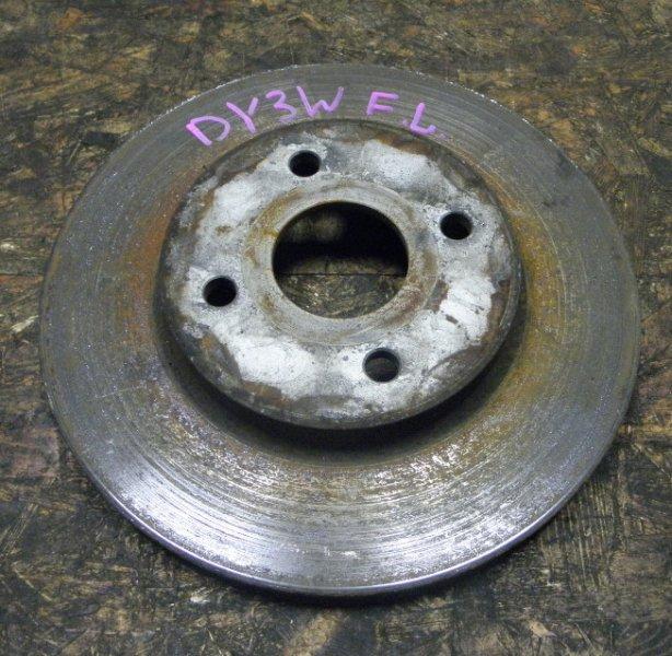 Тормозной диск Mazda Demio DY3W ZJVE передний