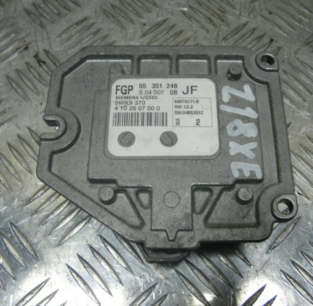 Блок управления efi Opel Astra H ASTRA H Z18XE