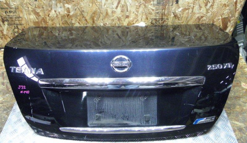 Крышка багажника Nissan Teana J32 VQ25DE 2008