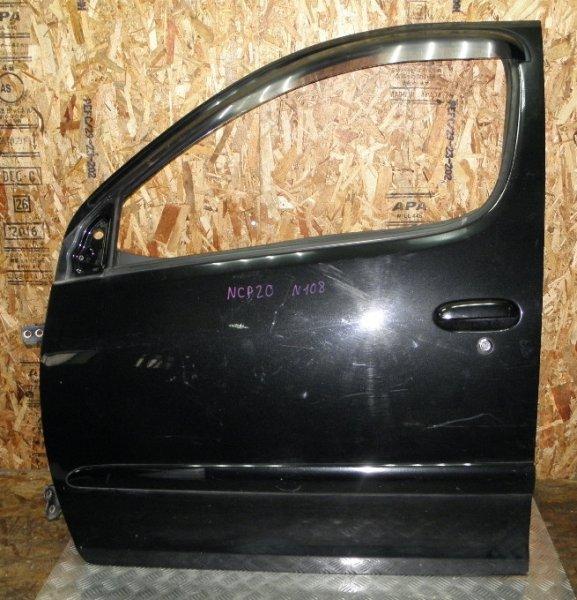 Дверь Toyota Funcargo NCP20 2NZFE 2003 передняя левая