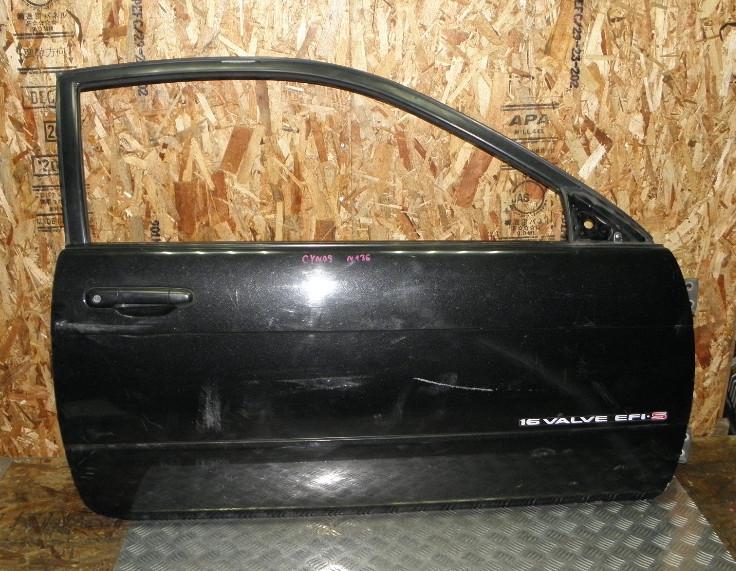 Дверь Toyota Cynos EL44 5EFHE 1991 передняя правая