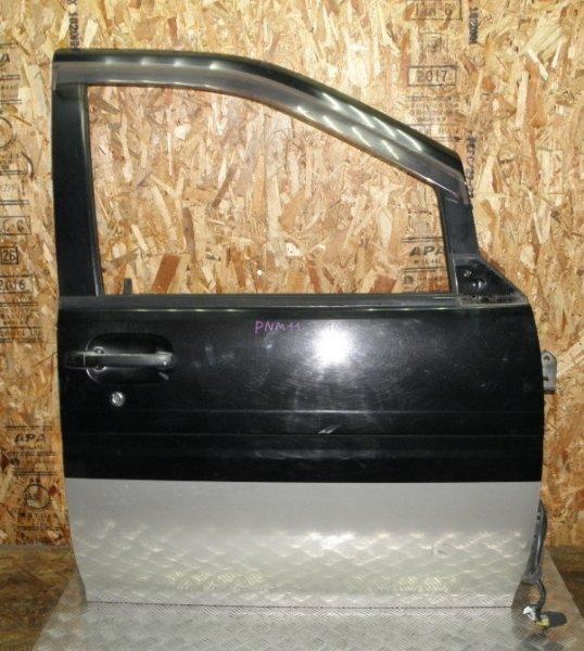 Дверь Nissan Prairie Joy PNM11 SR20DE 1997 передняя правая