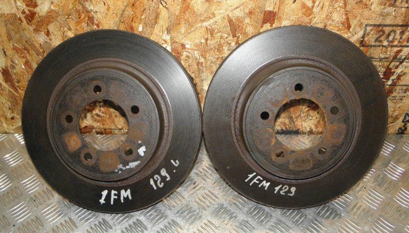 Тормозной диск Ford Explorer 4 1FMEU73 6G960AB 4.0 2005 передний