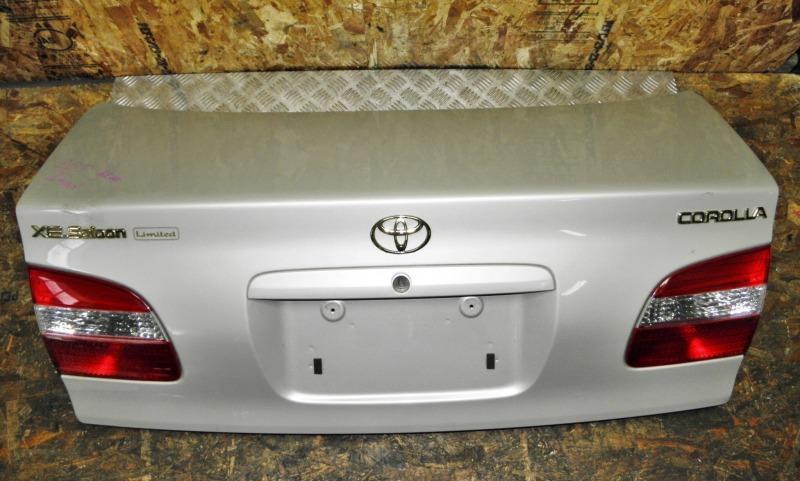 Крышка багажника Toyota Corolla EE111 4EFE 2000