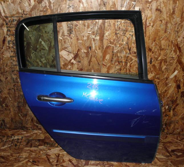Дверь Renault Megane BM F4R771 2006 задняя правая