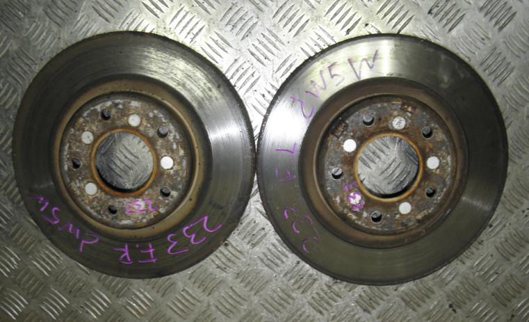 Тормозной диск Mitsubishi Outlander Xl CW5W 4B12 2005 передний