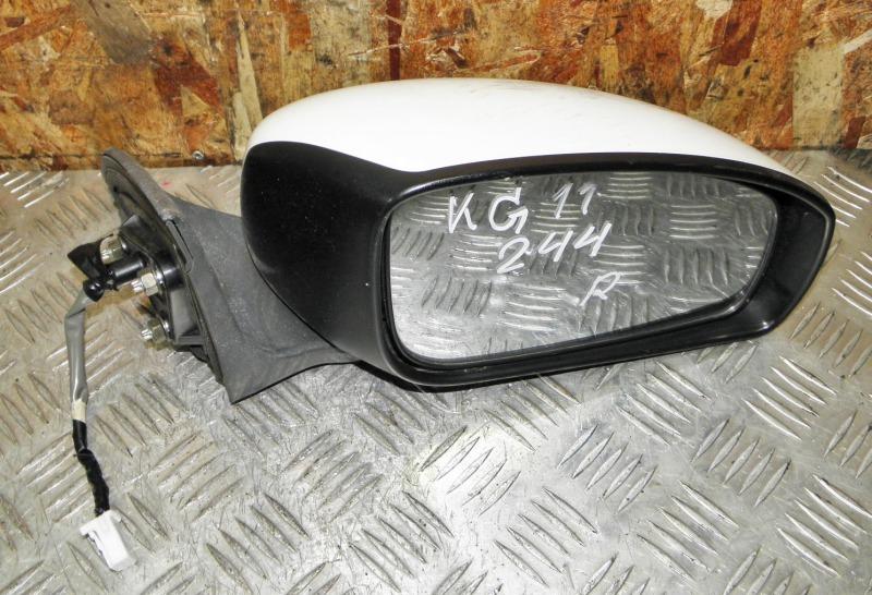 Зеркало Nissan Bluebird Sylphy KG11 MR20DE 2006 переднее правое