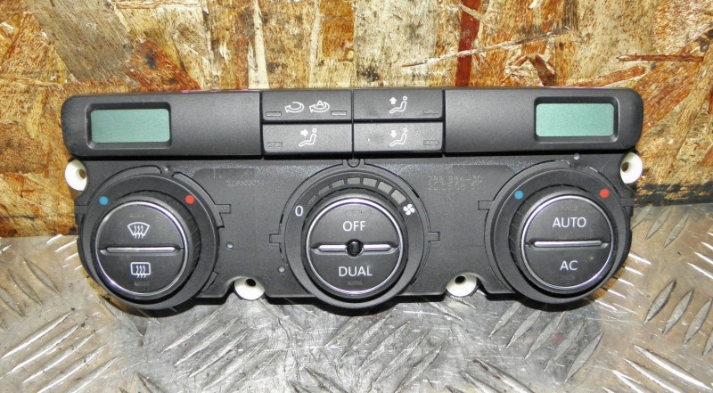 Блок управления климат-контролем Volkswagen Tiguan 5NCAW CAW 2008