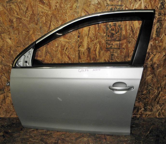 Дверь Volkswagen Golf 6 Variant 5K1 CAVD 2010 передняя левая