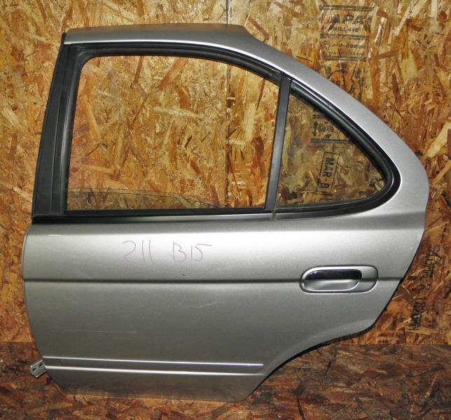 Дверь Nissan Sunny FNB15 QG15DE 2003 задняя левая